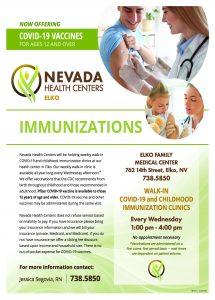 Childhood Immunization Flyer